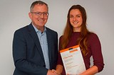 Förderpreis für Dr. Karin Schrieber, Institut für Ökosystemforschung