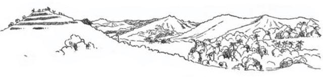Stufenhügel in Ngaraard