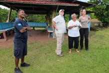 Drone flight with our Palauan cooperation partners