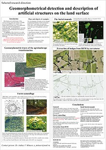 "Poster 2 ""Geomorphometrical detection and description of artificial structures on the land surface"""