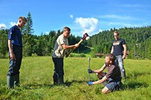Research in the Kleinwalser Valley