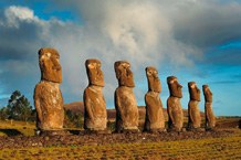 Moai © Andreas Mieth, Uni Kiel