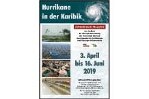 """Plakat """"Hurrikane in der Karibik"""""""