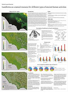 Poster 4: Landforms as a natural resource for different types of ancient human activities