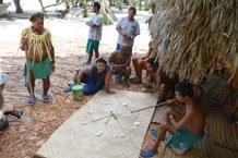 Master navigator school on Satawal, Micronesia