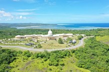 The Palauan seat of government, inspired by the American Capitol